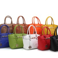 Hermes Women Shopping Leather Crossbody Satchel Shoulder Bag Handbag And Wallet Total 9 Color