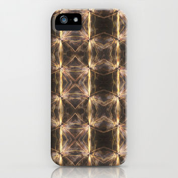 Golden Checkerboard iPhone & iPod Case by 319media