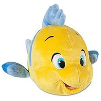 The Little Mermaid: Flounder Plush -- 10'' L | Disney Store