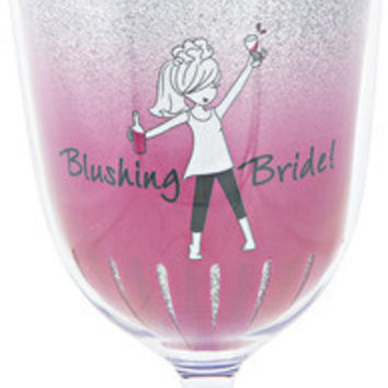 Blushing Bride A final toast to the single life! - Wine Tumbler