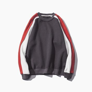 Hoodies Pullover Round-neck Sports Jacket [211448791052]