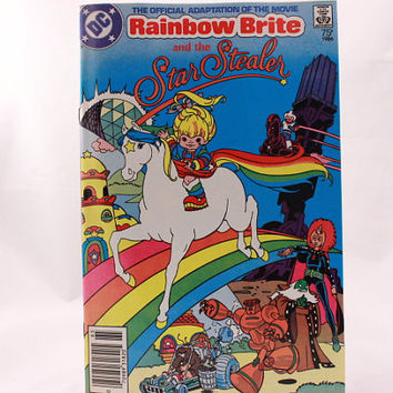 1986 Rainbow Brite and the Star Stealer Comic Book. NEW!