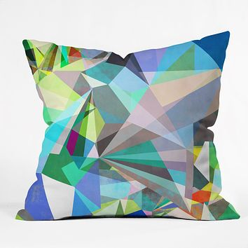 Mareike Boehmer Colorflash 5X Throw Pillow