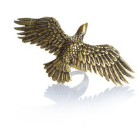 The Etana Eagle Ring - Brass | Spell & the Gypsy Collective