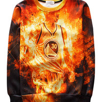 STEPHEN CURRY SUPER SAIYAN CREWNECK
