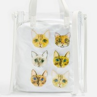 Cat Face Shoulder Bag | Topshop