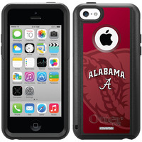 """Alabama - Watermark"" Alabama design on OtterBox® Commuter Series® Case for iPhone 5c in Black"