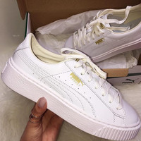 Puma Basket Platform Core Casual Shoes