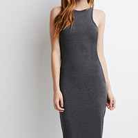 Classic Stretch-Knit Midi Dress