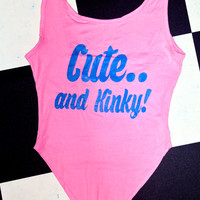 SWEET LORD O'MIGHTY! CUTE AND KINKY BODYSUIT