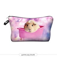 Guinea Pig in the Clouds Storage Pouch