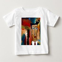 merger-abstract art baby T-Shirt