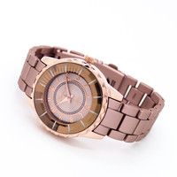Diamond matte metal watch (3 colors)