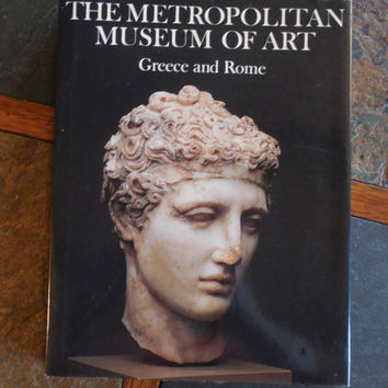 Metropolitan Museum of Art Book, Greece and Rome History, 1987 Vintage Coffee Table Book
