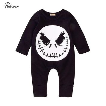 Halloween Baby Boys Girls Rompers Jumpsuit Autumn Clothes Casual Winter Outfits