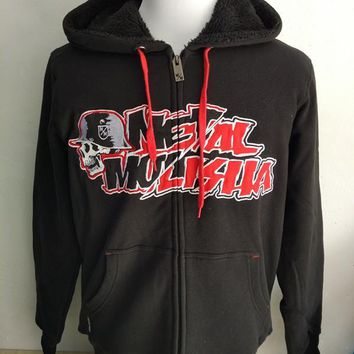 Men's MX BMX Kore Sherpa  Zip  Hoodie USA Size S-XL