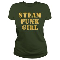 Steampunk Girl T Shirt