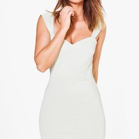 Colette Sweetheart Bodycon Dress | Boohoo