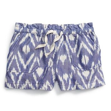 Girl's Peek 'Ava' Cotton Shorts,