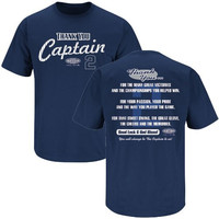 New York Yankees. Thanks, Captain Derek Jeter Tribute (Navy) (3XL)