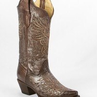 Corral Distressed Foil Cowboy Boot