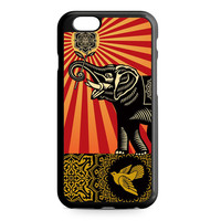 Vintage Elephant Art iPhone 6 case