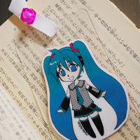 Laminated Bookmark (Business card size) / Vocaloid / Miku Hatsune / Manga / Anime