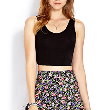 FOREVER 21 Must-Have Knit Crop Top