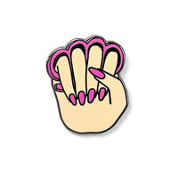Knuckle Duster Manicure Pin - Pale