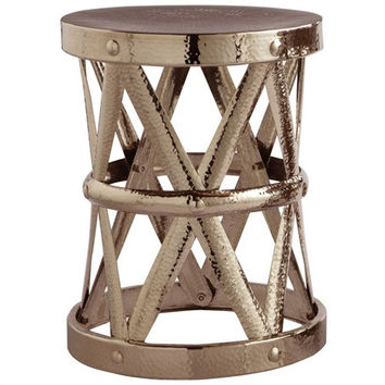 Arteriors Home Costello Iron Accent Table in Polished Nickel, Small - Arteriors Home 2005