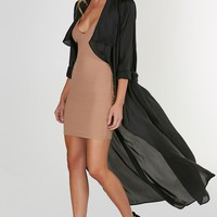 With The Flow Duster Coat