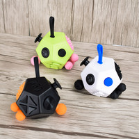 [CNC STYLE]2017 Fidget Cube Stress Cube Reliever 12 ways Relieves Stress And Anxiety And Relax for Children and Adults