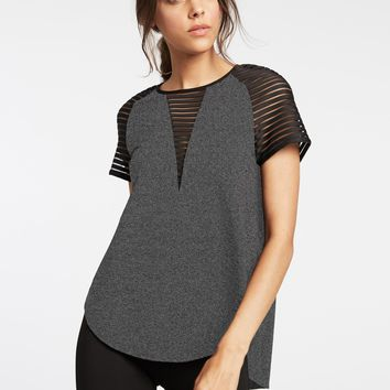 Descent Top Grey