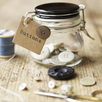 Little Button Jar ? Cox & Cox, the difference between house and home.