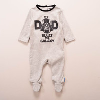 like my dad darth vader  STAR WARS 100%Cotton LongSleeve Clothing Similar Jumpsuit Baby Boy Girl Bodysuits baby boy girl clothes