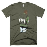 Kanye West Yeezus Tour Green Yeezy T Shirt - Case15