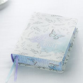 KJV My Promise Bible-Journaling Bible In SIlk Blue