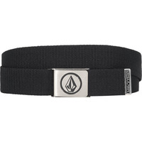 Volcom Circle Stone Belt Black One Size For Men 11654810001