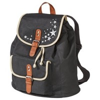 Mossimo Supply Co. Draw String Star Backpack - Black