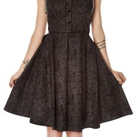 FOLTER MOURN IN STYLE DRESS