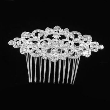 Beautiful bridal hair accessories alloy wedding accessories
