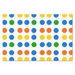 """Custom Tissue Paper with Colorful Dots 10"""" X 15"""" Tissue Paper"""