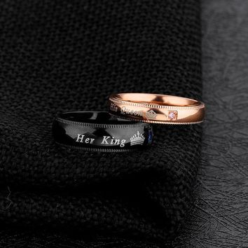 Her King, His Queen Ring