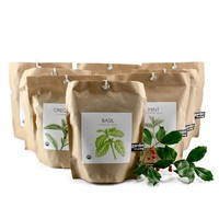 Garden-in-a-Bag Herb Collection - Set of 8 Complete (491564278), Organic Garden Plants, Herb Garden & Terrariums | bambeco