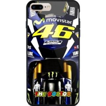 Yamaha 46 The Doctor Valentini Rossi iPhone 7 and 7+ Hard Plastic Case Cover