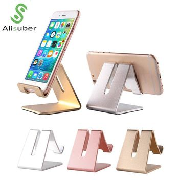 Alisuber Universal Phone Holder Aluminum Tablet Stand Holder Desk Stand for iPhone 7 Suporte Celular Phone Accessories