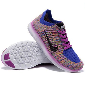 """NIKE"" Fashion Women Men Comfortable Knitted Net Surface Breathable Running Sport Shoes Sneaker 5#"
