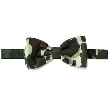 Fefè camouflage print bow tie