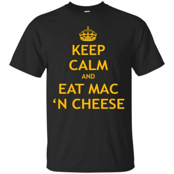 Unisex Keep Calm And Eat Mac N Cheese Relaxed T-Shirt