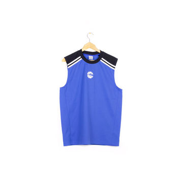 NIKE basketball jersey top / mesh / embroidered swoosh logo / athletic / medium